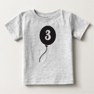 Des Babys erstes Grau der Geburtstags-des Shirt-| Baby T-shirt