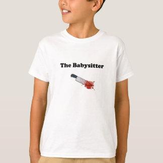 Des Babysitter-Creepy Halloween-T - Shirt-Kindes T-Shirt