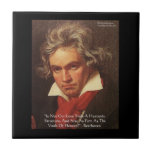 "Des Beethoven-""Himmels"" Liebe-Zitat-Fliesen"