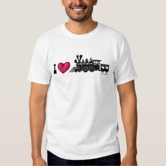 Des Dampf-Motors der Liebe I sich fortbewegender T Shirt