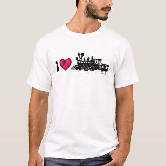 Des Dampf-Motors der Liebe I sich fortbewegender T T-Shirt