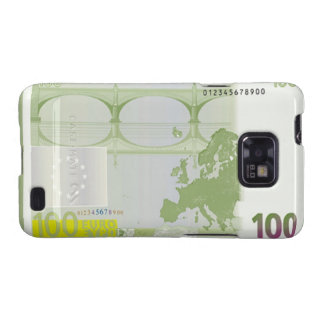 Des Euro-100 Kasten Banknoten-Rückseiten-Samsung-G Galaxy SII Hülle