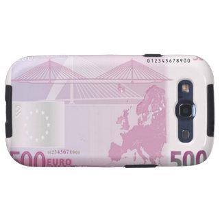 Des Euro-500 Kasten Banknoten-Rückseiten-Samsung-G Schutzhülle Fürs Galaxy S3