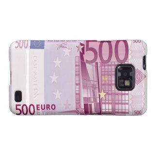 Des Euro-500 Kasten Banknoten-Samsung-Galaxie-S Galaxy S2 Cover