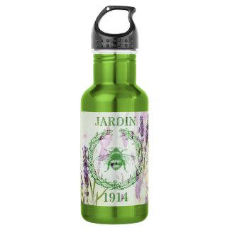 des französischen Vintage Biene Land-Lavendels Trinkflasche