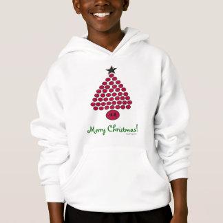 Des frohe Weihnacht-Kindes Obama 44 der Hoodie