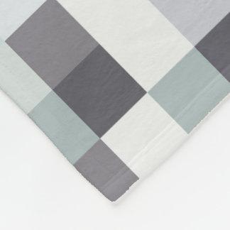 Des Gamer-| graues Pixelated Muster Grau-der Fleecedecke
