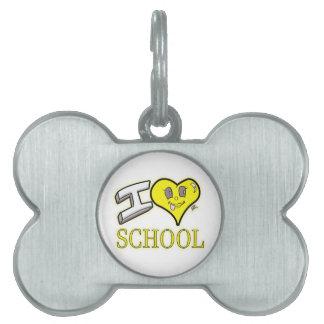 des Gelb-Schulbusses der Liebe I Schulausgabe Tiermarke