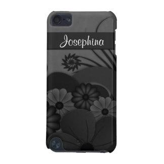 Des gotischen schwarzen Hibiskus Blumenfall iPod Touch 5G Hülle