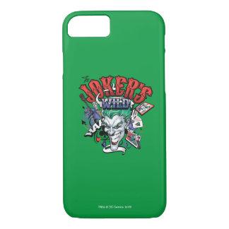 Des Jokers wild iPhone 8/7 Hülle