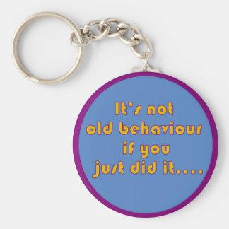 des lustigen Schlüsselkette Erholungs-Sprichworts Schlüsselanhänger