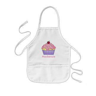 Des Mackenzies personalisierte Kuchen-Schürze Kinderschürze