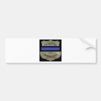 Des- Moinespolizei Autoaufkleber