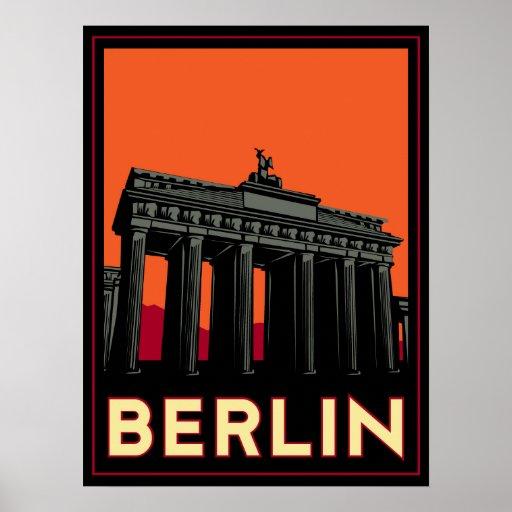 des oktoberfest retro Reise Kunst-Dekos Berlins De Posterdrucke