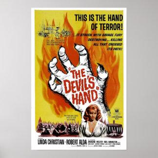 """Des Plakat Teufels Hand"""