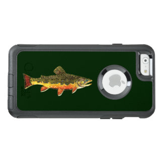 Des schönen Bachforelle-Fischers OtterBox iPhone 6/6s Hülle
