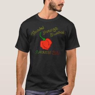 Des Skorpions-Chilis w Trinidads Moruga Text T-Shirt