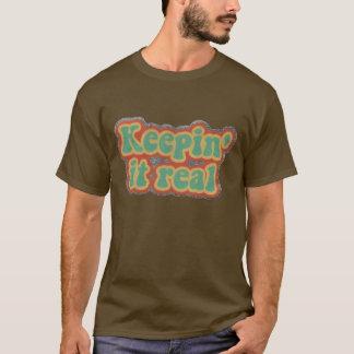 Des Teddys behalten es wirklicher T - Shirt