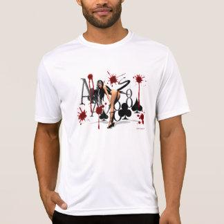 Des toten schwarzen die Asse Mannes Hand… u. das T-Shirt