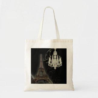 Des Turm-Leuchters Paris Eiffel Vintage Hochzeit Tragetasche