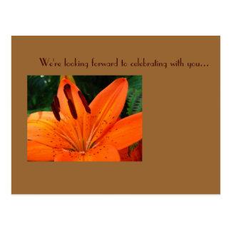 Des UAWG Postkarte tigerlily