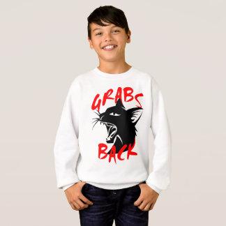 Des Zupacken-das Sweatshirt zurück Jungen