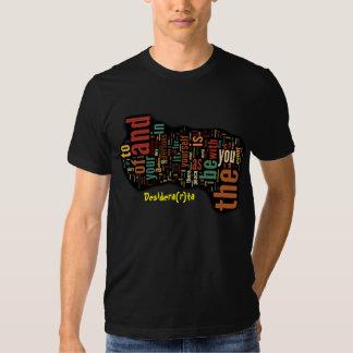 Desidera (R) ta Wort-Kunst Shirt