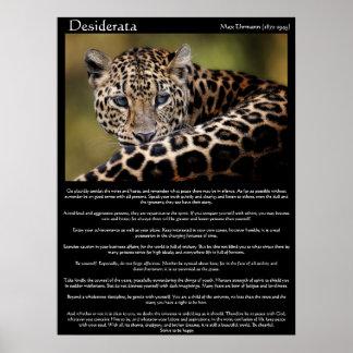 Desiderata-Plakate 8 Poster