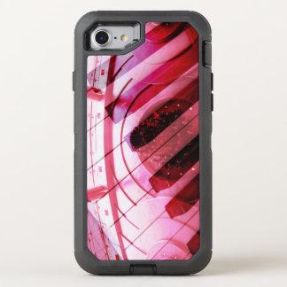 Design Klavier Pink OtterBox Defender iPhone 8/7 Hülle