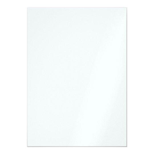 Perlenglanz 12,7 cm x 17,8 cm, weiße Briefumschläge inklusive