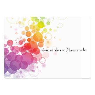 Designer-abstrakte Visitenkarten