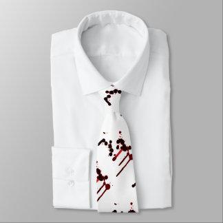 Designer-Blut-Spritzer Bedruckte Krawatte