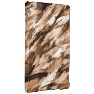 Designer-Camouflage in der Beige und in gebranntem