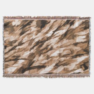 Designer-Camouflage in der Beige und in gebranntem Decke