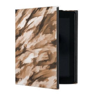 Designer-Camouflage in der Beige und in gebranntem iPad Etui