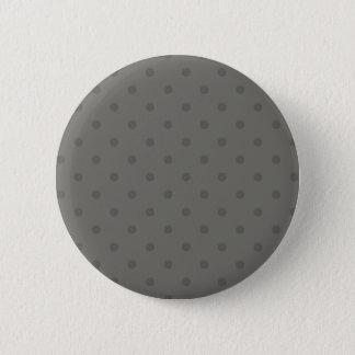 Designer-eleganter Knopf mit Punkten Runder Button 5,7 Cm