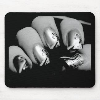 Designer Fingernails Mouse Pad