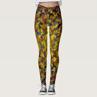 Designer-Mosaik Leggings