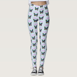 Designer-Schmetterlings-Gamaschen Leggings