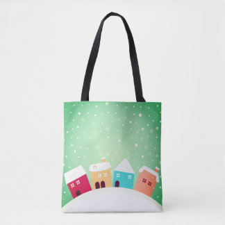 Designer-Taschentasche der frohen Weihnachten Tasche