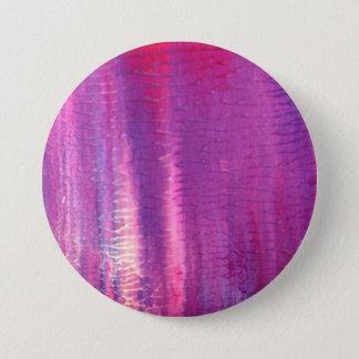 Designerluxusknopf: Lila Runder Button 7,6 Cm