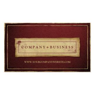 DesignerVintager Grunge-berufliche Geschäfts-Karte Visitenkarte