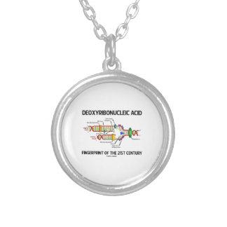 Desoxyribonukleinsäure-Fingerabdruck des 21. Halskette Mit Rundem Anhänger