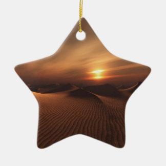 Desrt Regen Keramik Ornament