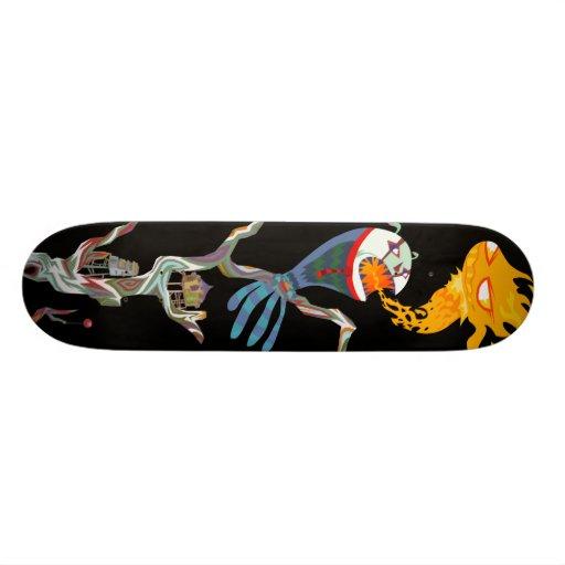 DEStemp Skateboard Individuelles Skateboard