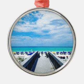 Destin Florida Strände Silbernes Ornament