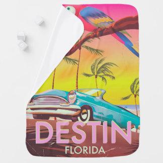 Destin Florida USA Vintages Reiseplakat Kinderwagendecke