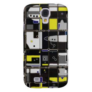 Destructured kundenspezifischer abstrakter Entwurf Galaxy S4 Hülle