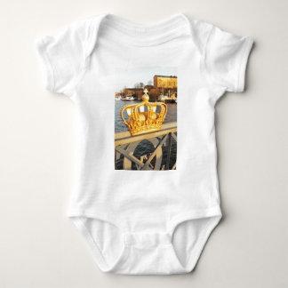 Detail der Brücke in Stockholm, Schweden Baby Strampler