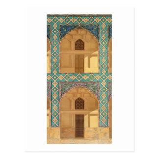 Detail der Hof-Säulengänge im Medrese-i-S Postkarte